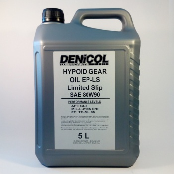Denicol Hypoid Gear Oil LS GL5 5L