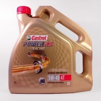 Castrol Power RS 4T 5W40 Racing 4L